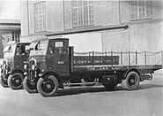 A 1930s Thornycroft Speedy Flatbed