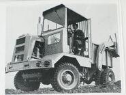 A 1960s Wakefield SD55R 4X4 Sitedumper