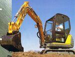Fermec 115 excavator