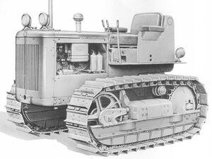 International TD-61 1956