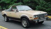 1981 AMC Eagle convertible beige NJ