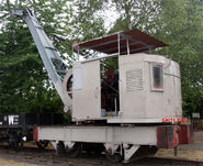 A 1910 Smith Of Rodley Steam Railcrane
