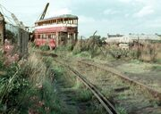 A Scrapped Tram in Leeds - geograph.org.uk - 1357840