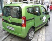 Fiat Fiorino Qubo Dynamic Discogrün Heck