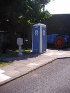 RAC roadside Telephone Box, Lowestoft Transport Museum 13th June 2009