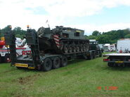 Scammell Contractor - HBB 775W tank transporter at Belvoir 08 - DSC01249