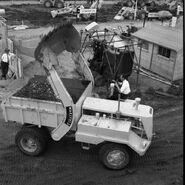 A 1960s Wakefield Sitedumper SD55 4X4