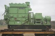 Blackstone industrial engine Brush alternator unit at GDSF 08 - IMG 0775