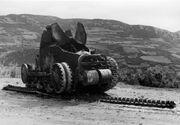 Bundesarchiv Bild 146-1973-035-12, Jugoslawien, zerstörter jugosl. Panzer