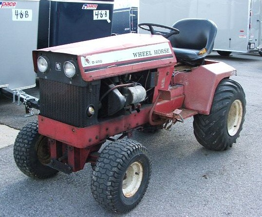 Wheel Horse D-250 | Tractor & Construction Plant Wiki