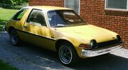 1975 AMC Pacer base model frontrightside