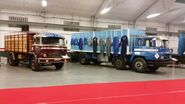 BARREIROS Trucks on display today at Villaverde