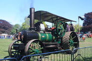 Fowler no. 17756 ploughing engine - VO8987 at Wollaton Park 2011 - IMG 0994