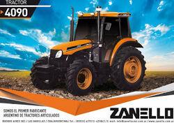 Zanello (CMZ) 4090 MFWD (YTO) brochure - 2017