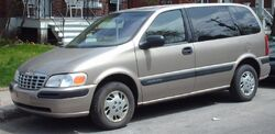 1997-2000 Chevrolet Venture SWB 3-Door