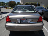2005 Ford Crown Victoria, Rear