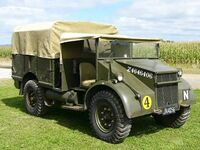 A 1940s GUY Ant GS Armytruck