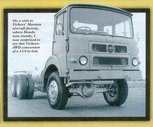 A 1970s Vickers-AWD Seddon Lorry 6X6 Diesel