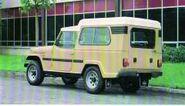 A 1980s EBRO JEEP Comando Van 4X4