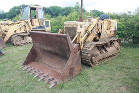 Cat 951C traxcavator at EM wd 2011 - IMG 0513