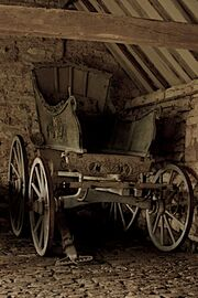 Old horse cart at Snowshill Manor