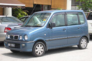 Perodua Kenari (first generation) (front), Serdang