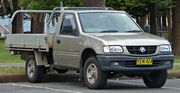 2001-2003 Holden TF Rodeo LX 2-door cab chassis 01