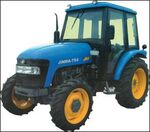 Jinma 754 MFWD w cab (blue) - 2005