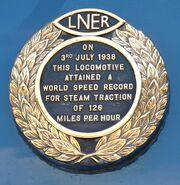 Mallard Record Plate 01