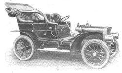 1906 American Simplex Touring Car