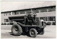 A 1940s Aveling Barford SA Dumptruck Diesel