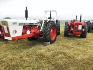 A 1970s David Brown 1212 4WD model of DOE 130 4WD Tractor replica