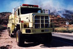 Fire engine in California