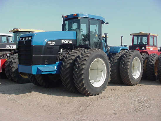 Ford Versatile 9680 | Tractor & Construction Plant Wiki