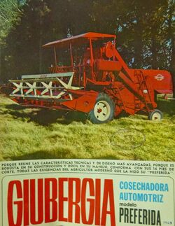 Giubergia Preferida combine brochure