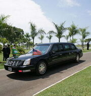 Limousine of the President of the United States