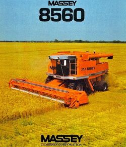 MF 8560 combine (MASSEY) brochure