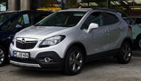 Opel Mokka 1.4 Turbo ecoFLEX Innovation – Frontansicht, 20. Oktober 2012, Heiligenhaus