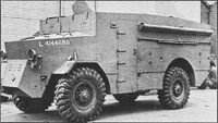 A 1940s GUY Lizard Armoured Command vehicle