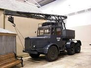 A 1940s Thornycroft Iron Duke Coles Cranetruck