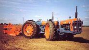 A 1960s DOE Triple D Super Major 4WD Tractor