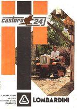 Lombardini Castoro 24 crawler