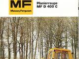 Massey Ferguson D400C crawler