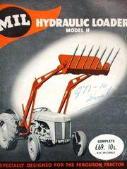 Milloader Model H for Ferguson