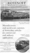 Rotinoff Motors brochure