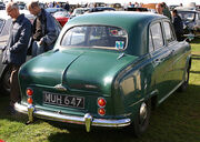 Austin A40 Cambridge rear