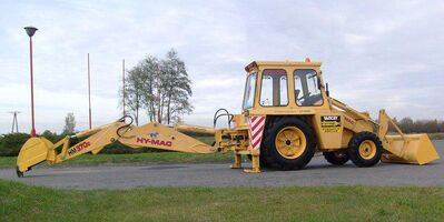 HYMAC 370C BACKHOE LOADER,
