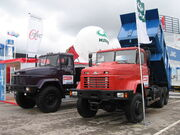KRAZ truck mims 2006