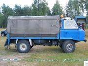 Land Rover Series IIB FC side