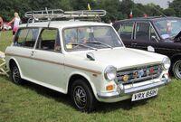 Morris 1300 MkII Traveller registered September 1969 1275cc at Knebworth 2013